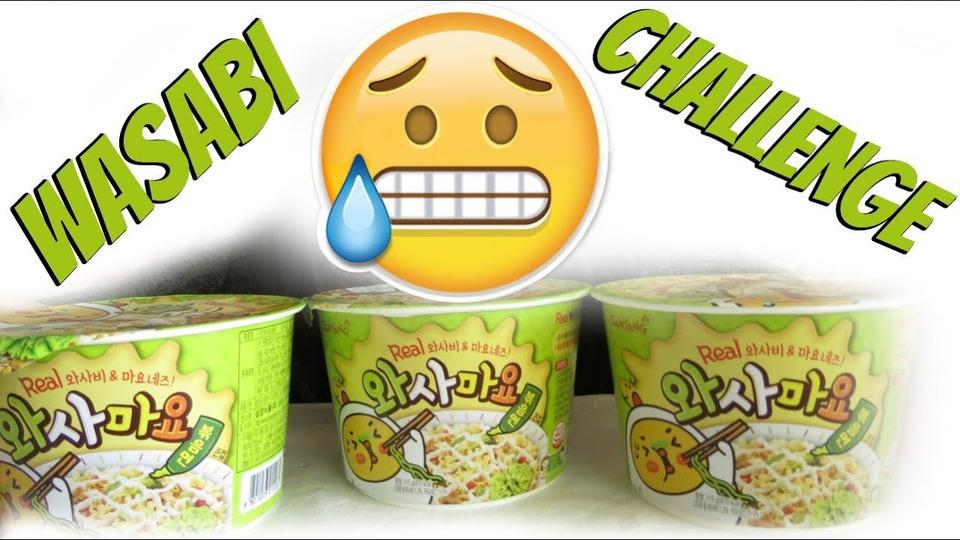 s04e53 — WASABI RAMEN CHALLENGE & 200K GIVEAWAY 먹방 MUKBANG | EATING SHOW 신메뉴