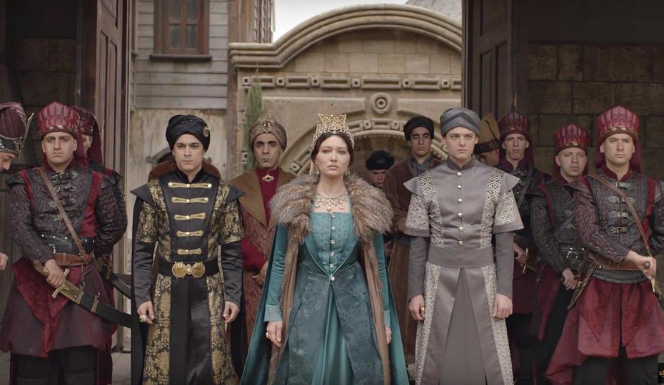 хитофайбером кёсем султан русские субтитры 23 серия начала нужно сказать