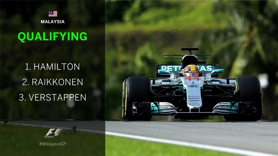 s2017e29 — Malaysian Grand Prix Qualifying Highlights