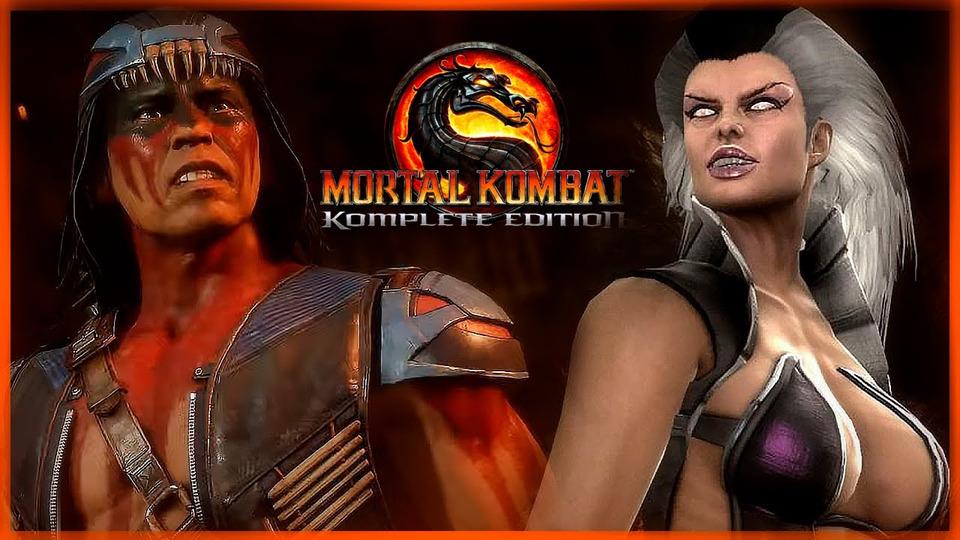 s11e233 — НАЙТВУЛЬФ vs СИНДЕЛ ● Mortal Kombat 9 Komplete Edition (Прохождение) #7