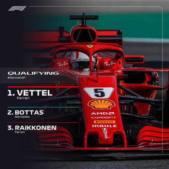 s2018e21 — German Grand Prix Qualifying Highlights