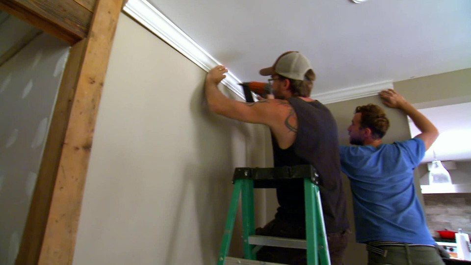 s2015e01 — A Young Couple's Hands-On Renovation Still Blows The Budget