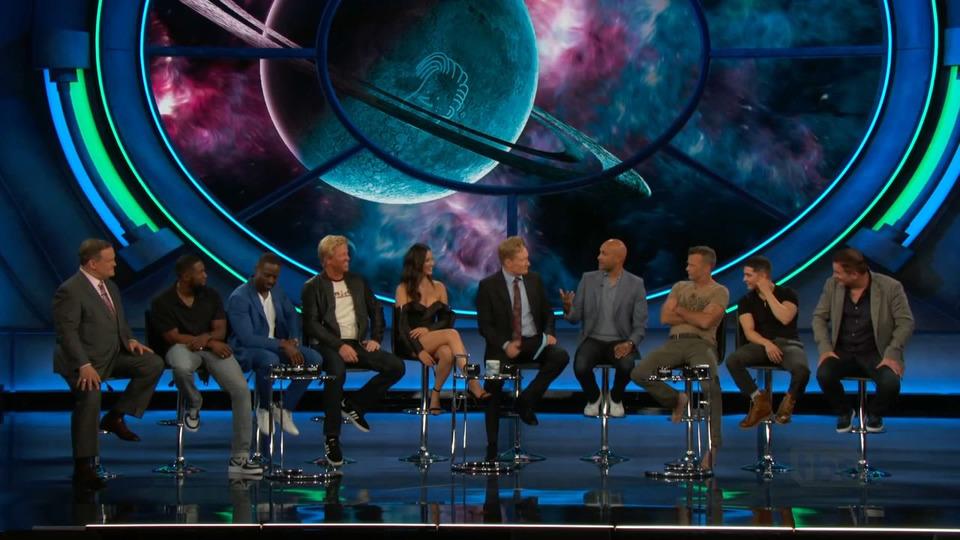 s2018e74 — Olivia Munn, Keegan-Michael Key, Sterling K. Brown, Thomas Jane, Trevante Rhodes, Augusto Aguilera, Jake Busey, Shane Black
