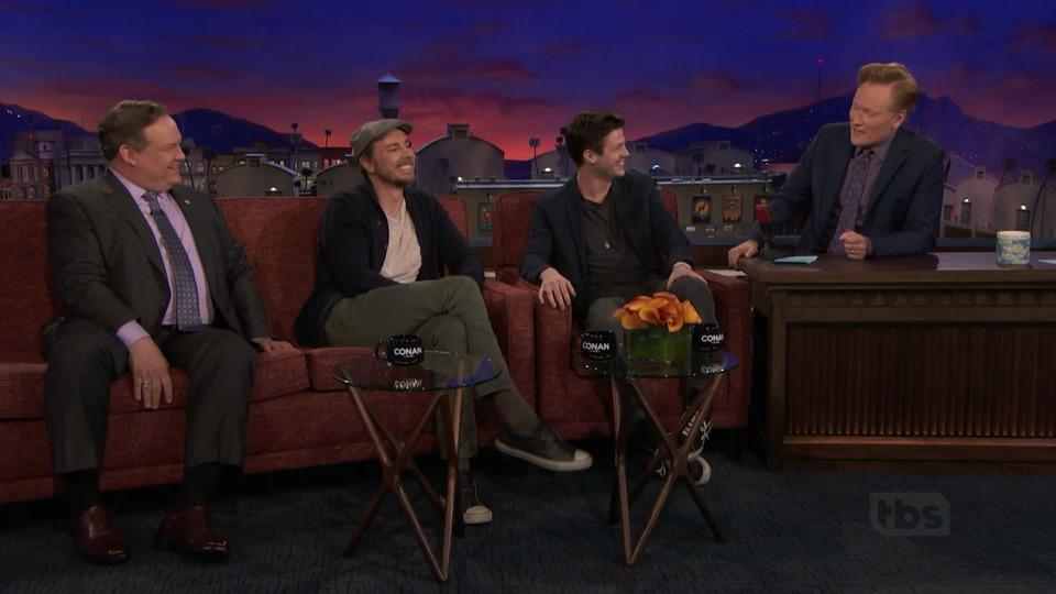 s2018e36 — Dax Shepard, Grant Gustin, Nick Griffin