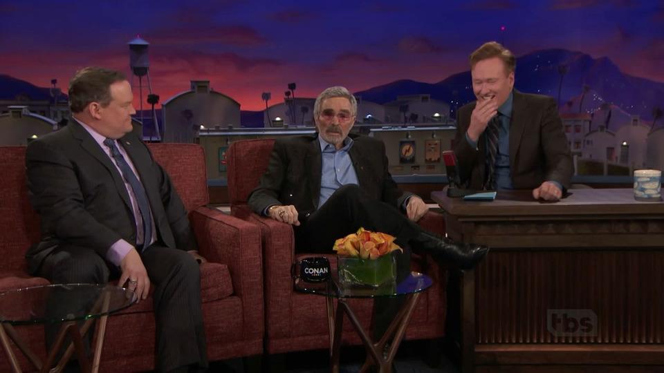 s2018e29 — Burt Reynolds, Dylan Moran, Rachel Feinstein