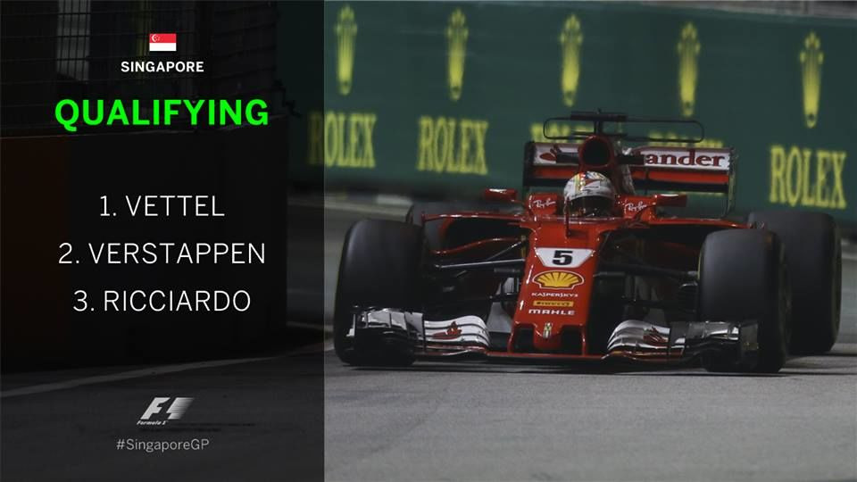 s2017e27 — Singapore Grand Prix Qualifying Highlights