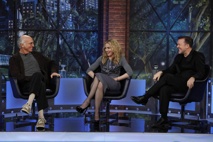 s01e03 — Madonna, Larry David, Ricky Gervais
