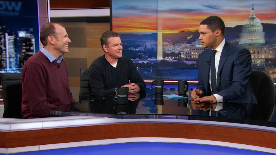 s2018e41 — Matt Damon & Gary White