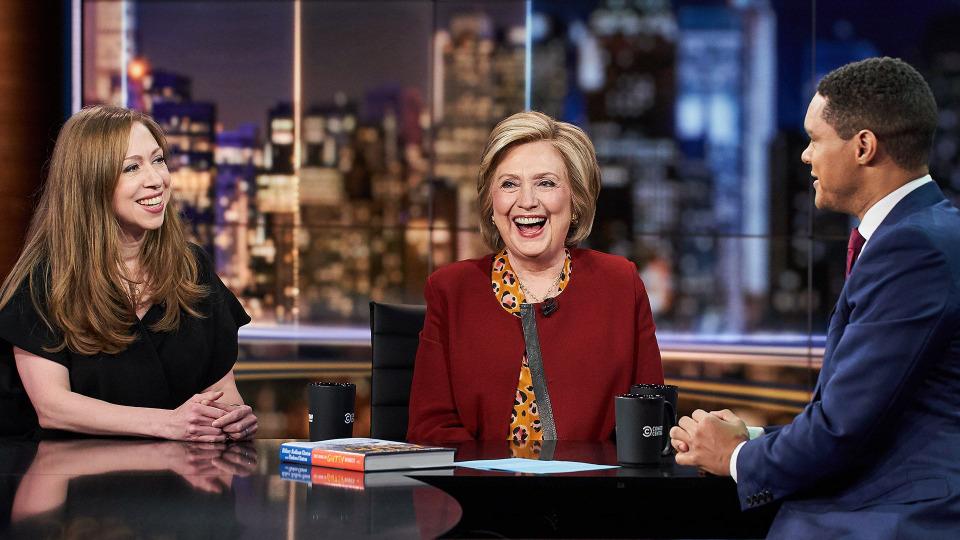 s2019e136 — Hillary Rodham Clinton & Chelsea Clinton