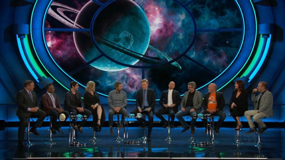 s2018e73 — Bryan Cranston, Aaron Paul, Anna Gunn, Dean Norris, Betsy Brandt, R.J. Mitte, Giancarlo Esposito, Bob Odenkirk, Vince Gilligan