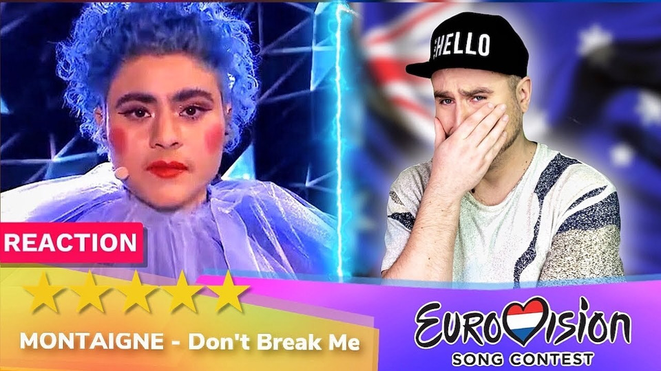 s04e28 — Montaigne— Don't Break Me— РЕАКЦИЯ (Австралия Евровидение 2020 Eurovision Australia)
