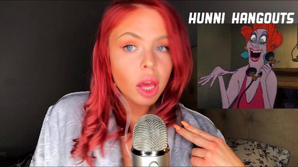 s02e13 — ASMR Super Up Close Whispering— Humorous Rambling/Comedy Show ft Hunni
