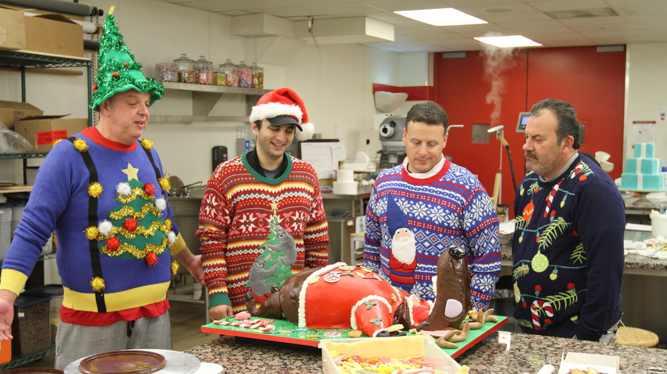 s09e18 — Holly Jolly Hoboken And Ugly Sweaters