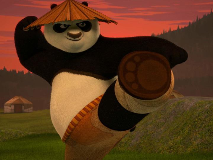 Демотиватор кунг фу панда