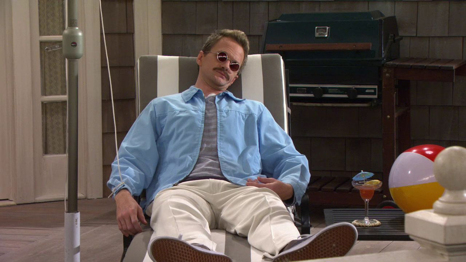 s08e18 — Weekend at Barney's