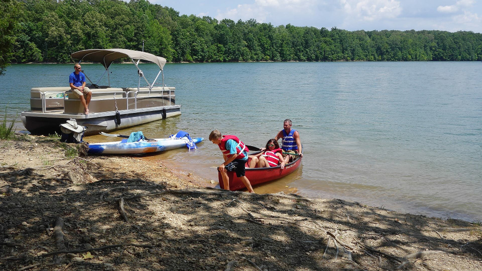 s2017e14 — Trekking to Tims Ford Lake in Tennessee