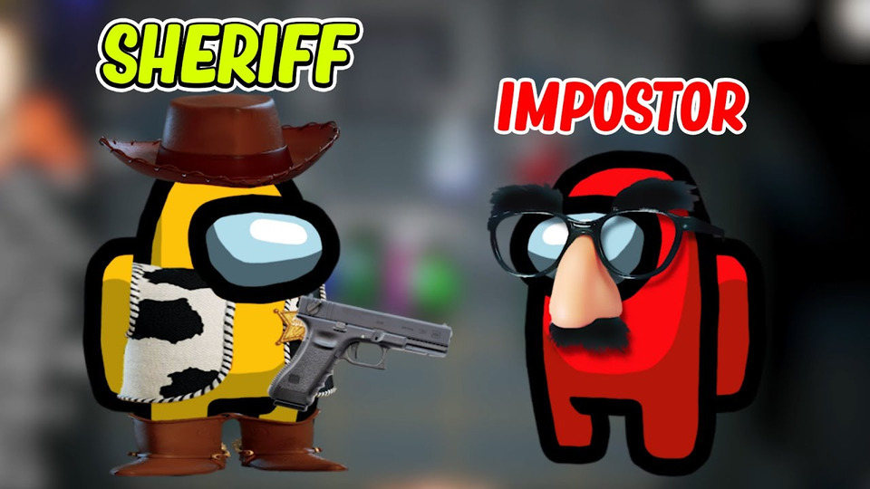 s10e02 — Amazing *New* SHERIFF MOD in Among Us