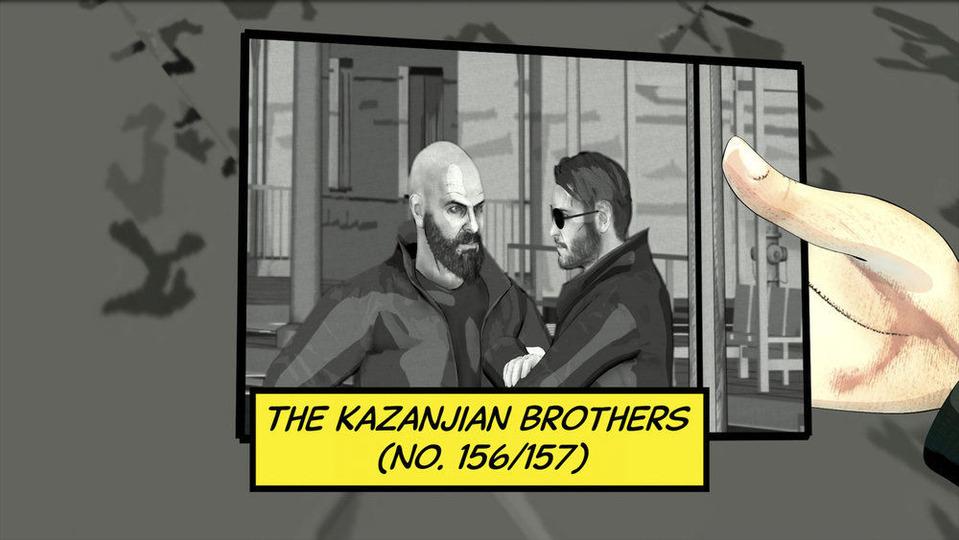 s07e19 — The Kazanjian Brothers (No. 156/157)
