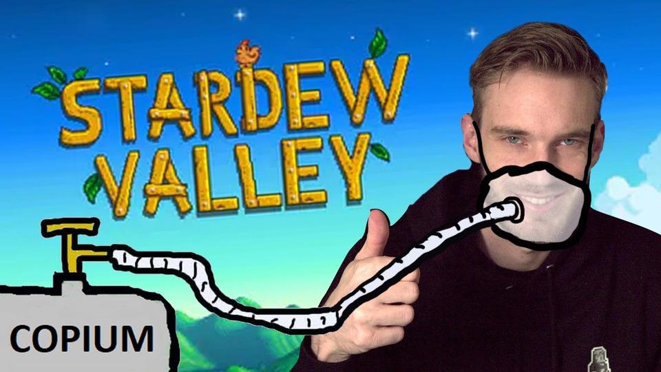 s12e19 — Stardew Valley— Part 1— Cope Stream