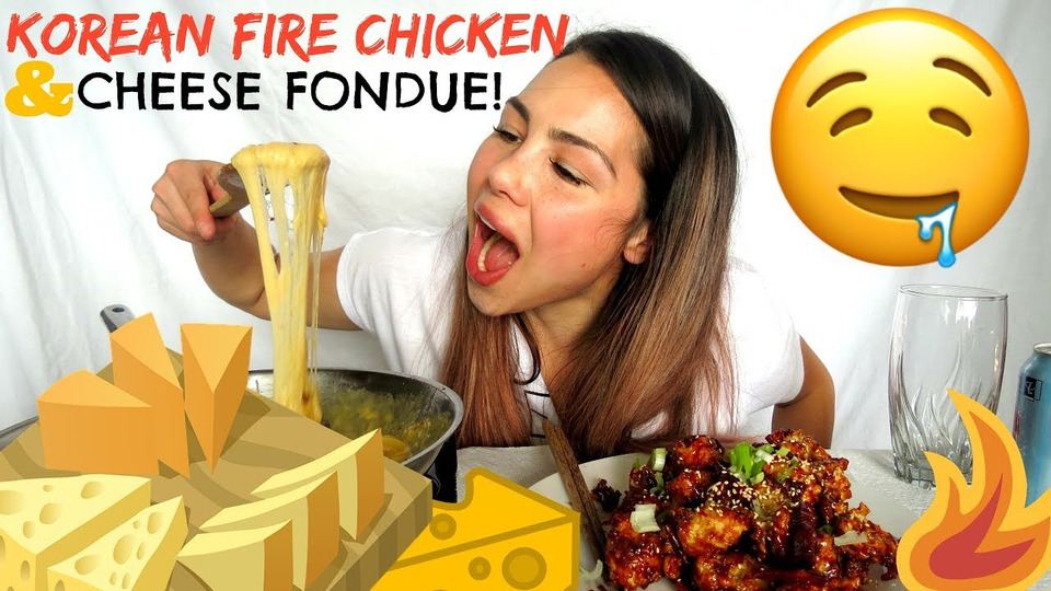 s04e31 — Spicy Fire Korean Chicken & Cheesy Fondue | StORY TiME EMBARRASSING MOMENT
