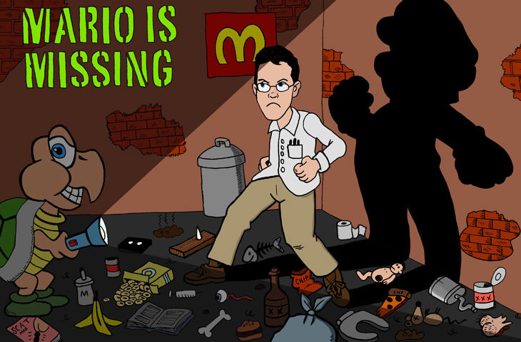 s04e09 — Mario is Missing!