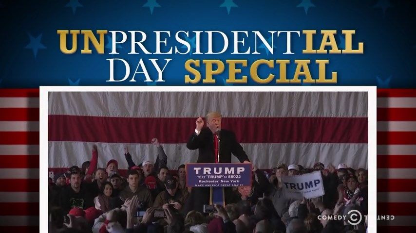s2018 special-5 — The Unpresidential Day Special