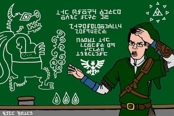 s02e23 — The Angry Video Game Nerd Is Chronologically Confused About the Legend of Zelda Timeline