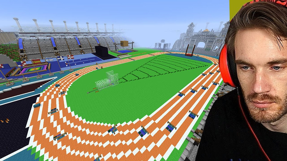 s12e109 — Pewdiepie Minecraft Olympic Games