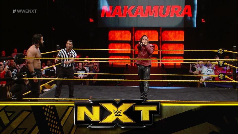 s10e17 — Main Event: Shinsuke Nakamura vs. Elias Samson