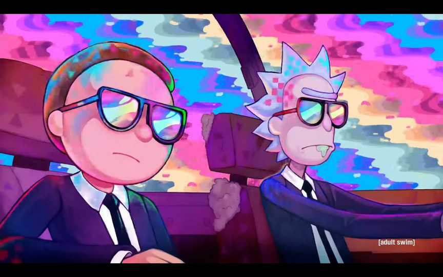 s2018e01 — Rick and Morty x Run the Jewels: Oh Mama