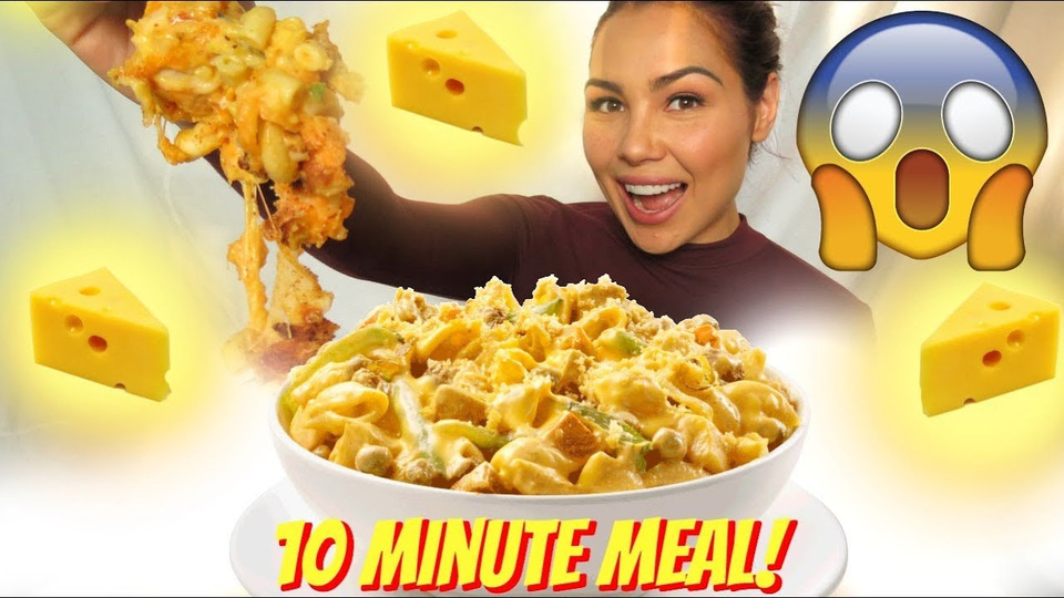 s04e43 — 10 Minute Mac & Cheese Hack 먹방 Mukbang