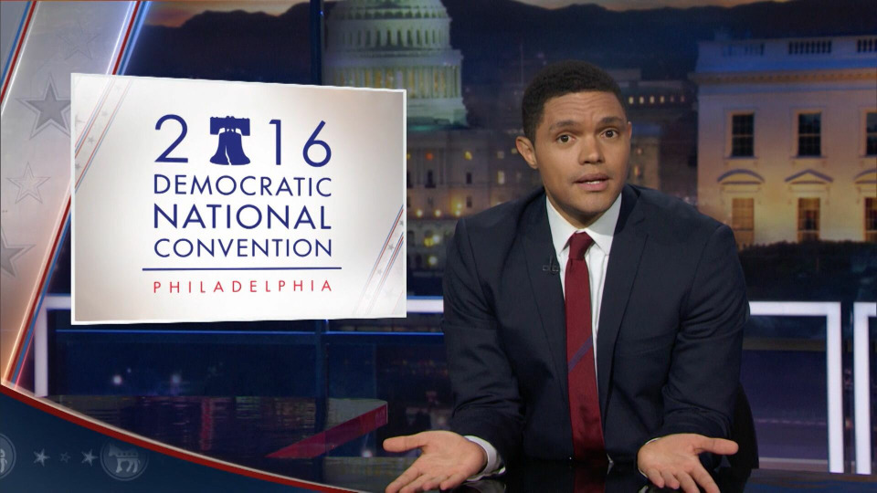 s2016e101 — DNC2016 - Let's Not Get Crazy Night Four - Can We Please Just Vote Now?