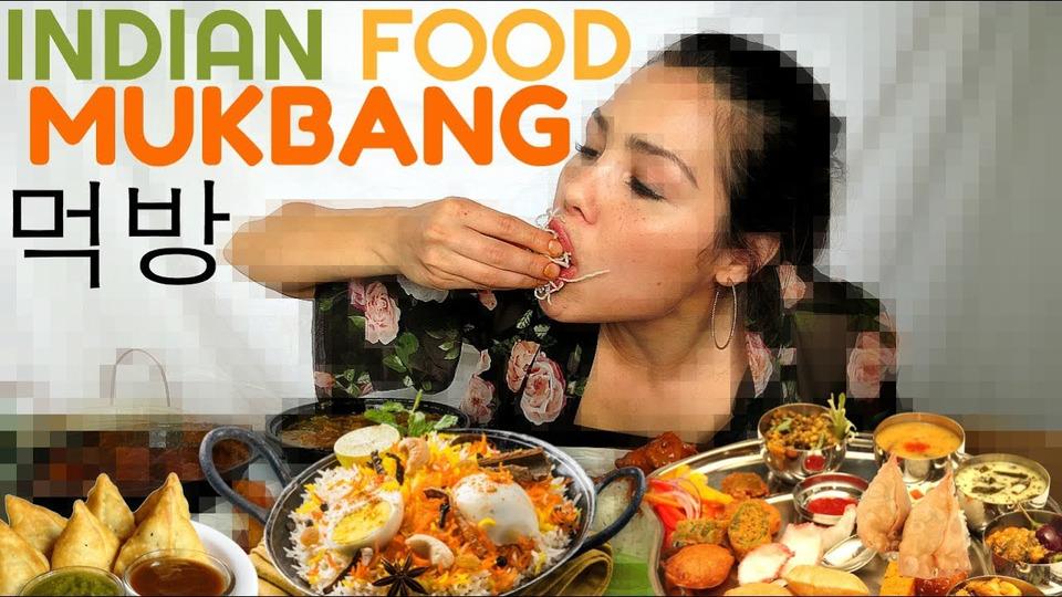 s04e32 — Indian Food Mukbang 먹방