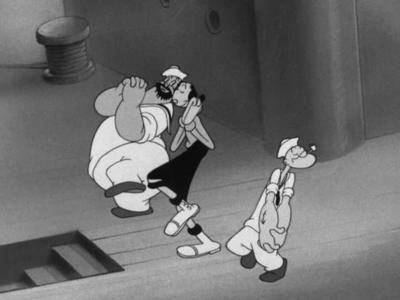 s1942e05 — Olive Oyl and Water Don't Mix