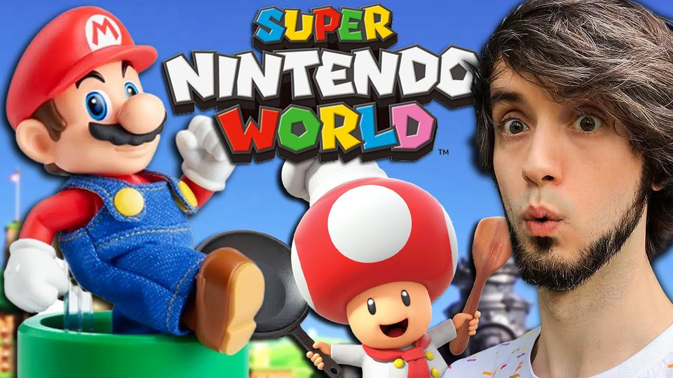 s13e03 — I Spent $750 on Super Nintendo World TOYS + FOOD
