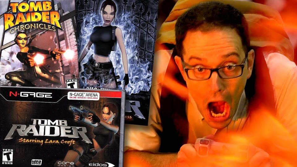 s12e04 — Tomb Raider Games