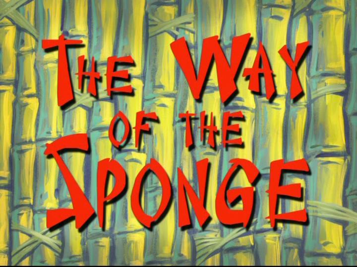 s08e25 — The Way of the Sponge