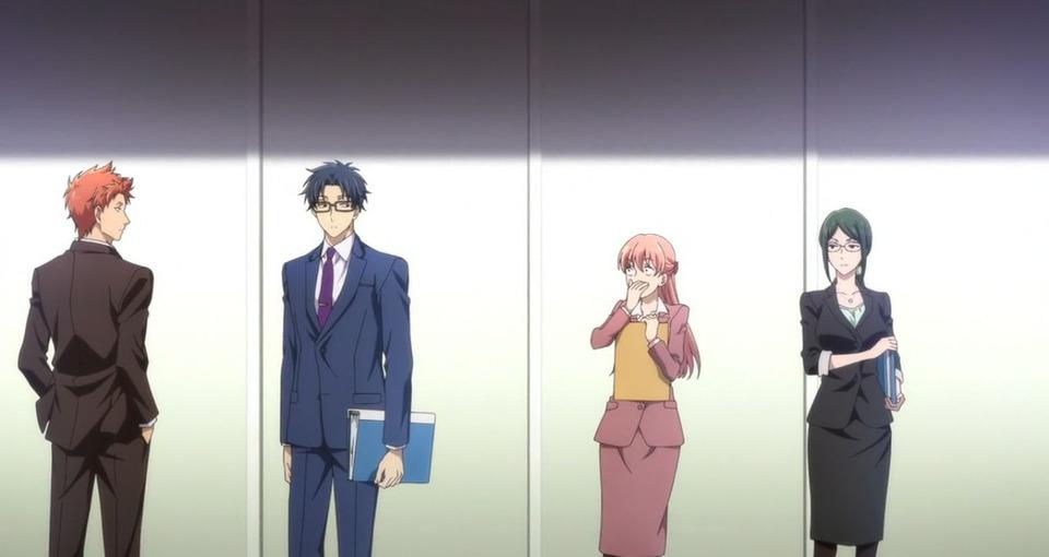 s01e01 — Narumi and Hirotaka Meet Again, and...