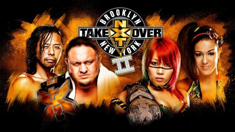 s10 special-4 — NXT TakeOver: Brooklyn II (LIVE)