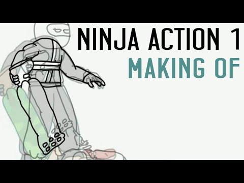 s02e02 — Ниндзя в деле - процесс рисования