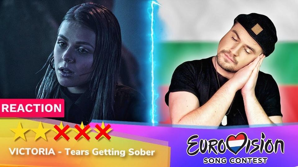 s04e37 — Victoria— Tears Getting Sober— РЕАКЦИЯ (Болгария Евровидение 2020 Eurovision Bulgaria)
