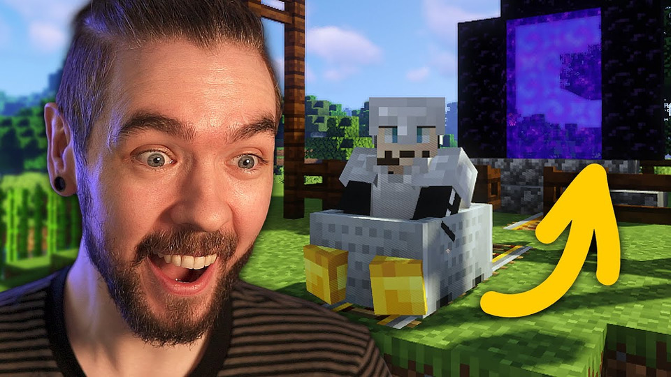 s10e27 — I MADE THIS! | Minecraft with Gab— Part 2