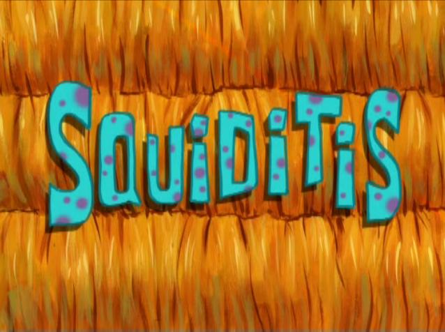 s08e38 — Squiditis