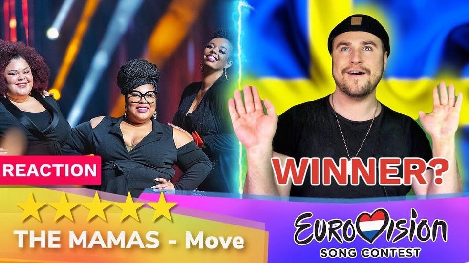 s04e40 — The Mamas— Move— РЕАКЦИЯ (Швеция Евровидение 2020 Eurovision Sweden)