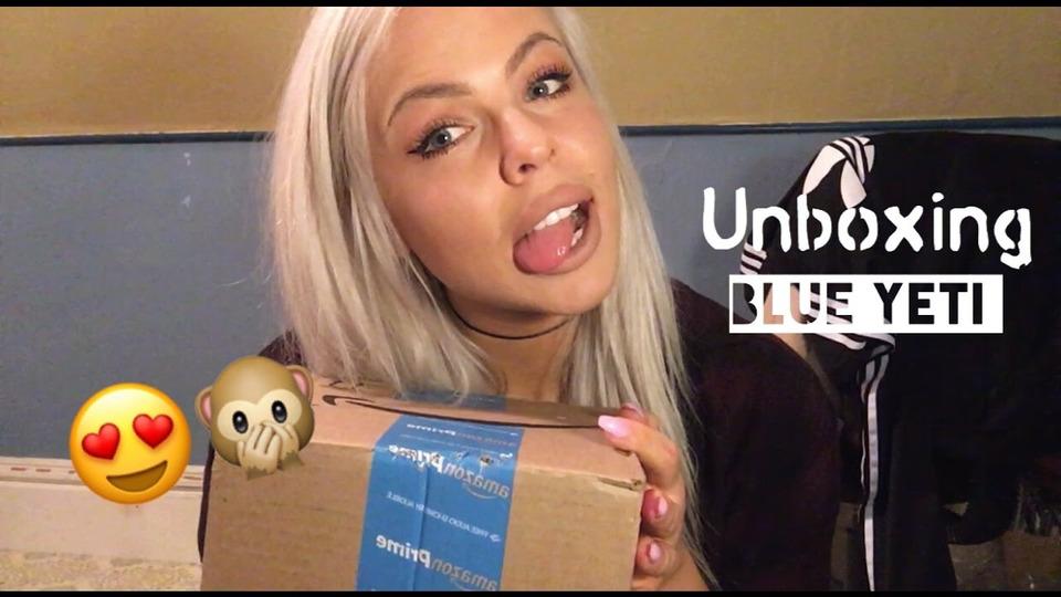 s01e03 — ASMR unboxing Blue Yeti USB microphone | soft whispering