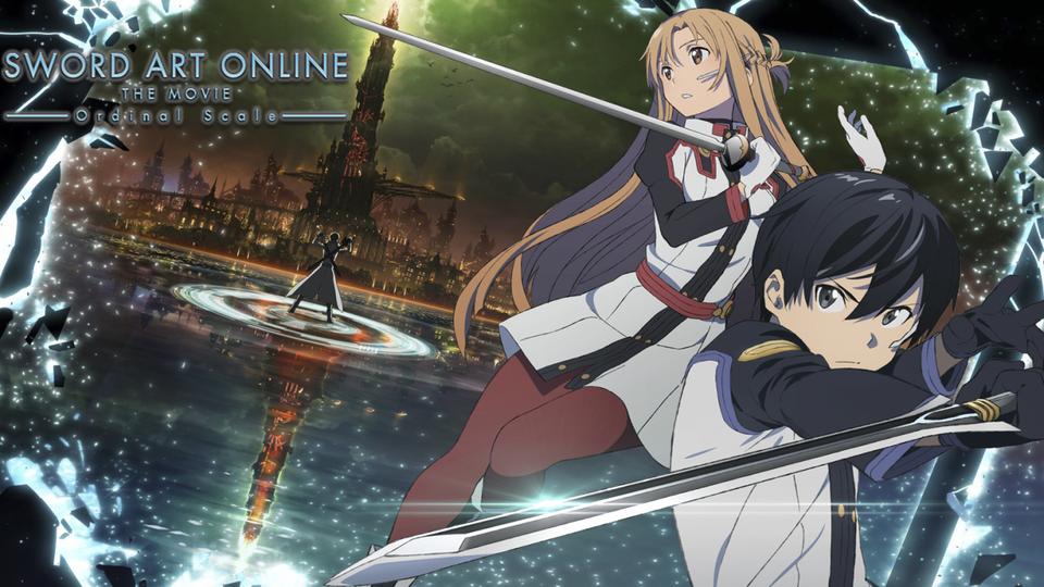 Мастера меча онлайн фильм  Gekijouban Sword Art Online