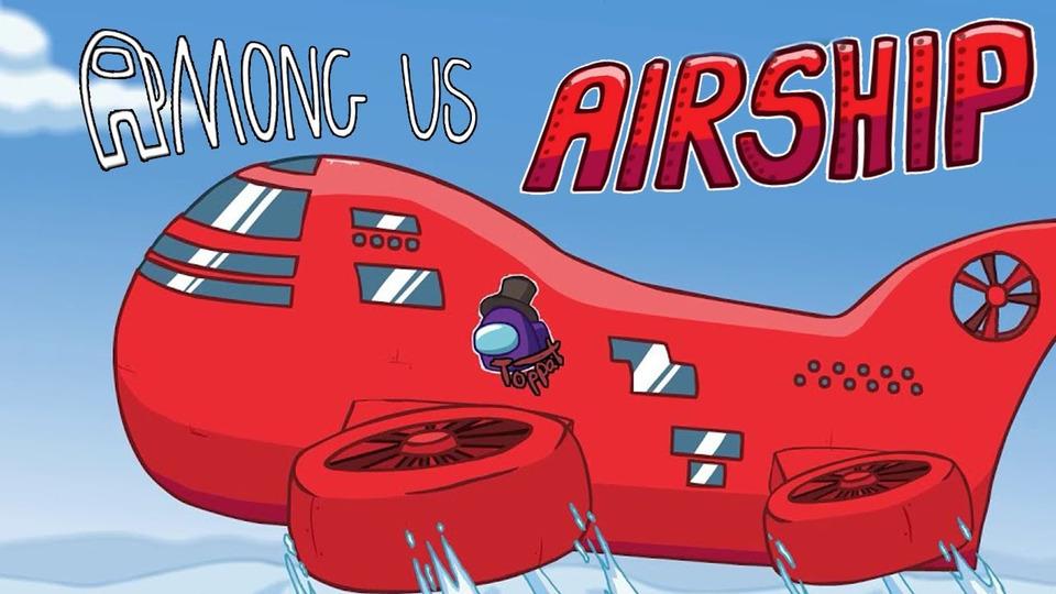 s11e121 — Among Us, ноВЫШЛА КАРТА The Airship! (ПЕРВЫЙ ВЗГЛЯД)
