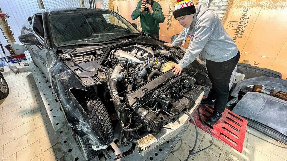s04e83 — Очень дорого разбивать Nissan GTR…