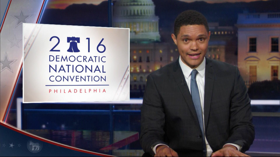 s2016e98 — DNC2016 - Let's Not Get Crazy Night One - A Bold New Same