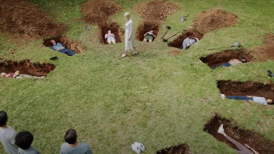 Посмотрите трейлер мини-сериала «Девять идеальных незнакомцев» сНиколь Кидман иЛюком Эвансом